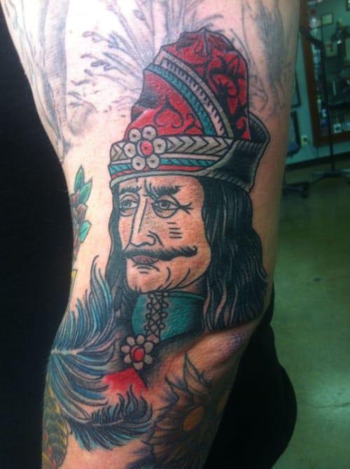 Vlad The Impaler Tattoo by High Street Tattoo