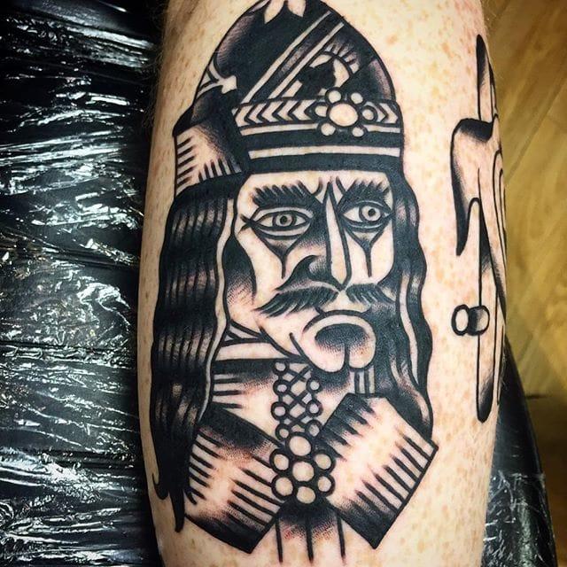 Tattoo by Jinx Cooper