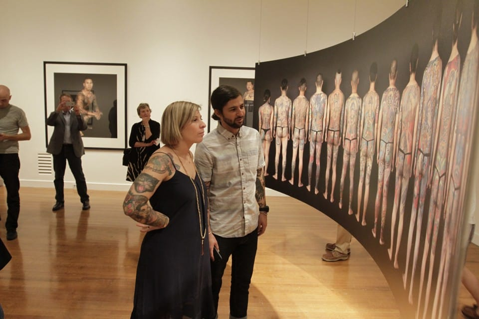 How Tattoos Are Making It Into High Art Exhibits