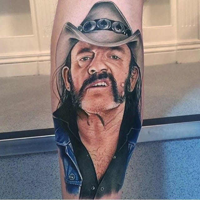 Lemmy Kilmister of Motorhead made by @davidcorden