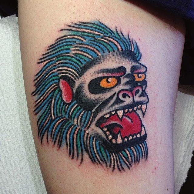 8 Mythical Yeti Tattoos
