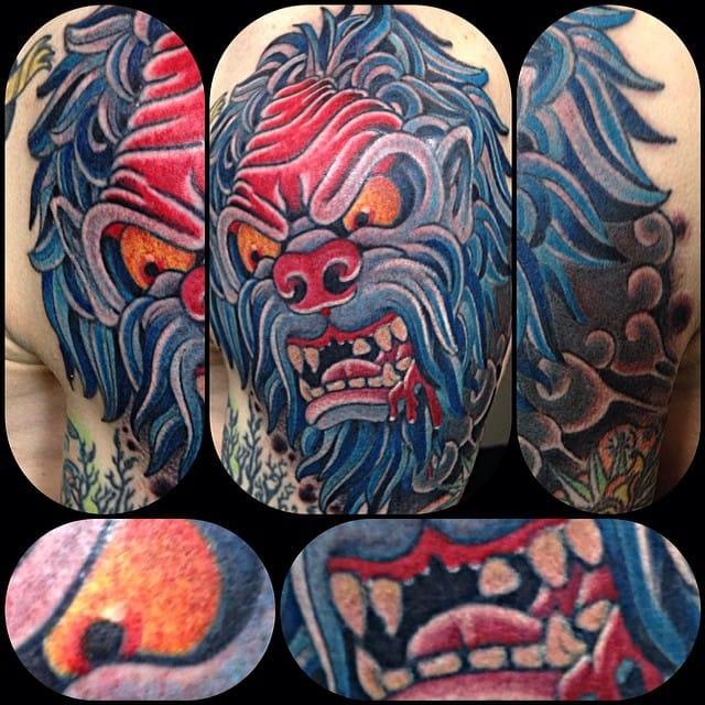 Yeti Tattoo by Dan Wulff