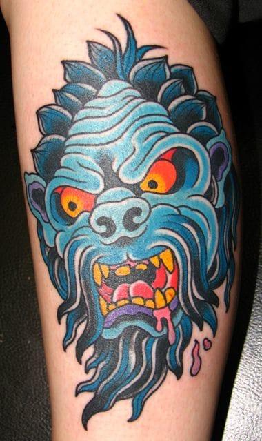 Yeti Tattoo by Danny Reed