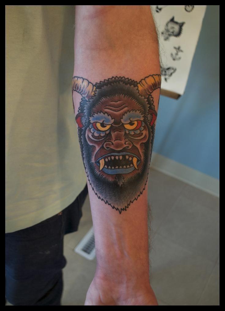 Yeti Tattoo by Seawolf Tattoo Company