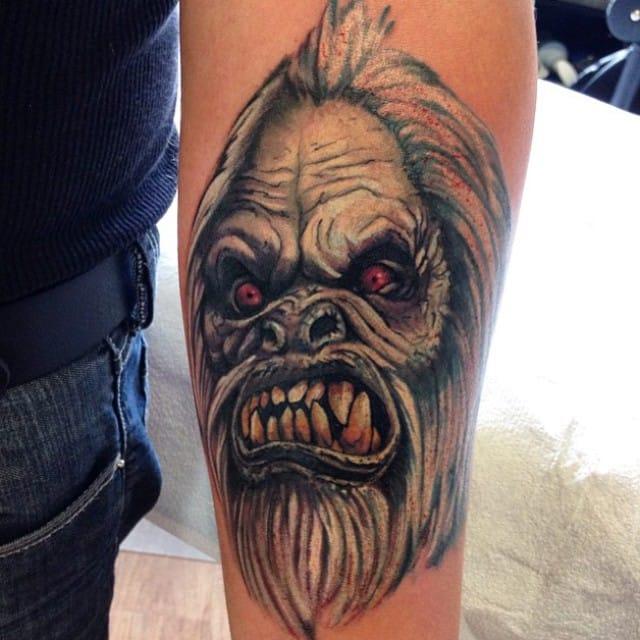 Yeti Tattoo by Veronique Gray