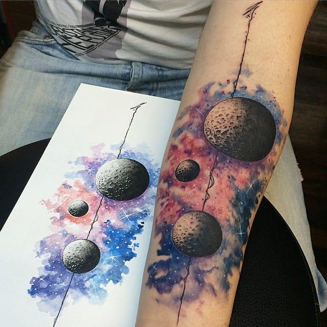 15 Cool Contemporary Tattoos by Savas Dogan