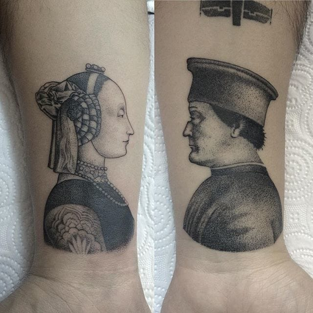 Portrait Tattoos by Savaş Doğan