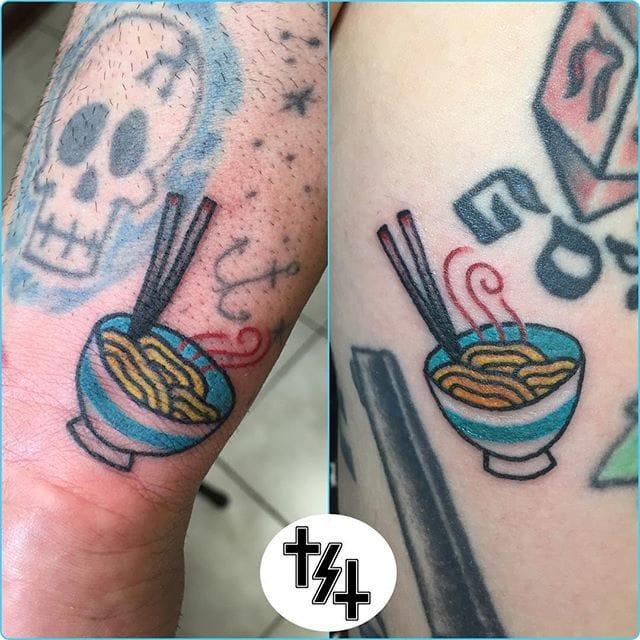 Ramen Tattoo by Donna Klein