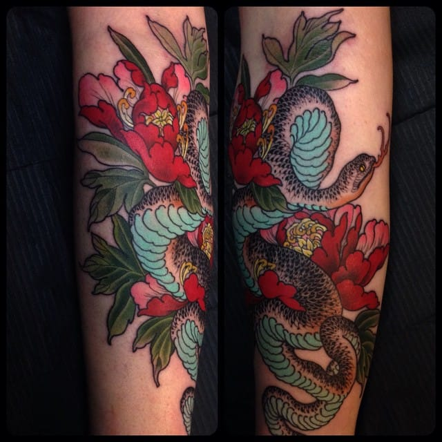 Wendy Pham's Neotraditional Japanese Style Tattoos