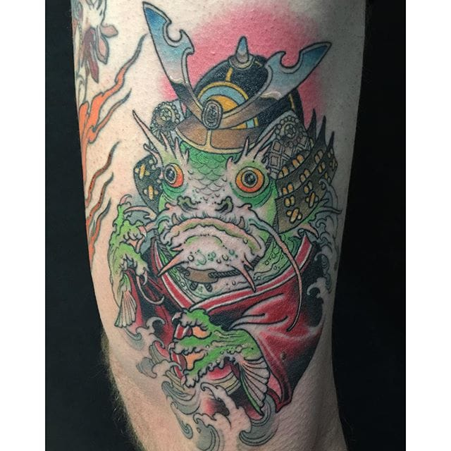 Japanese Style Tattoo by Wendy Pham @wenramen