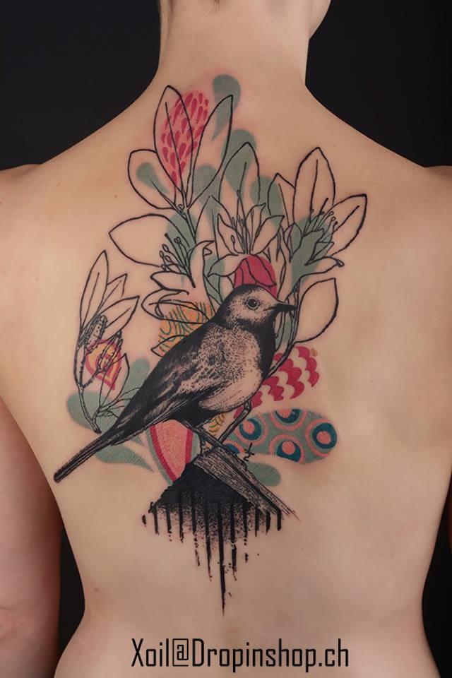 18 Enchanting Songbird Tattoos