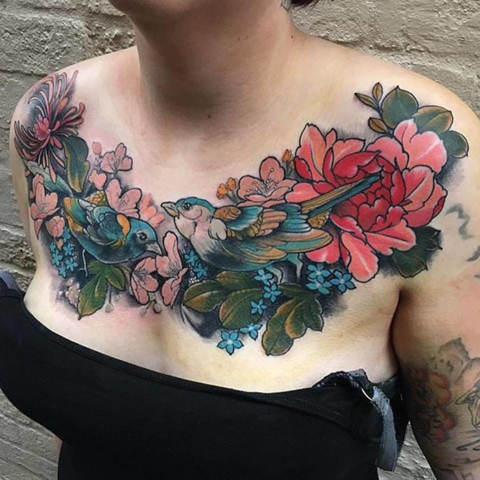Amazing chestpiece by Max Rathbone.