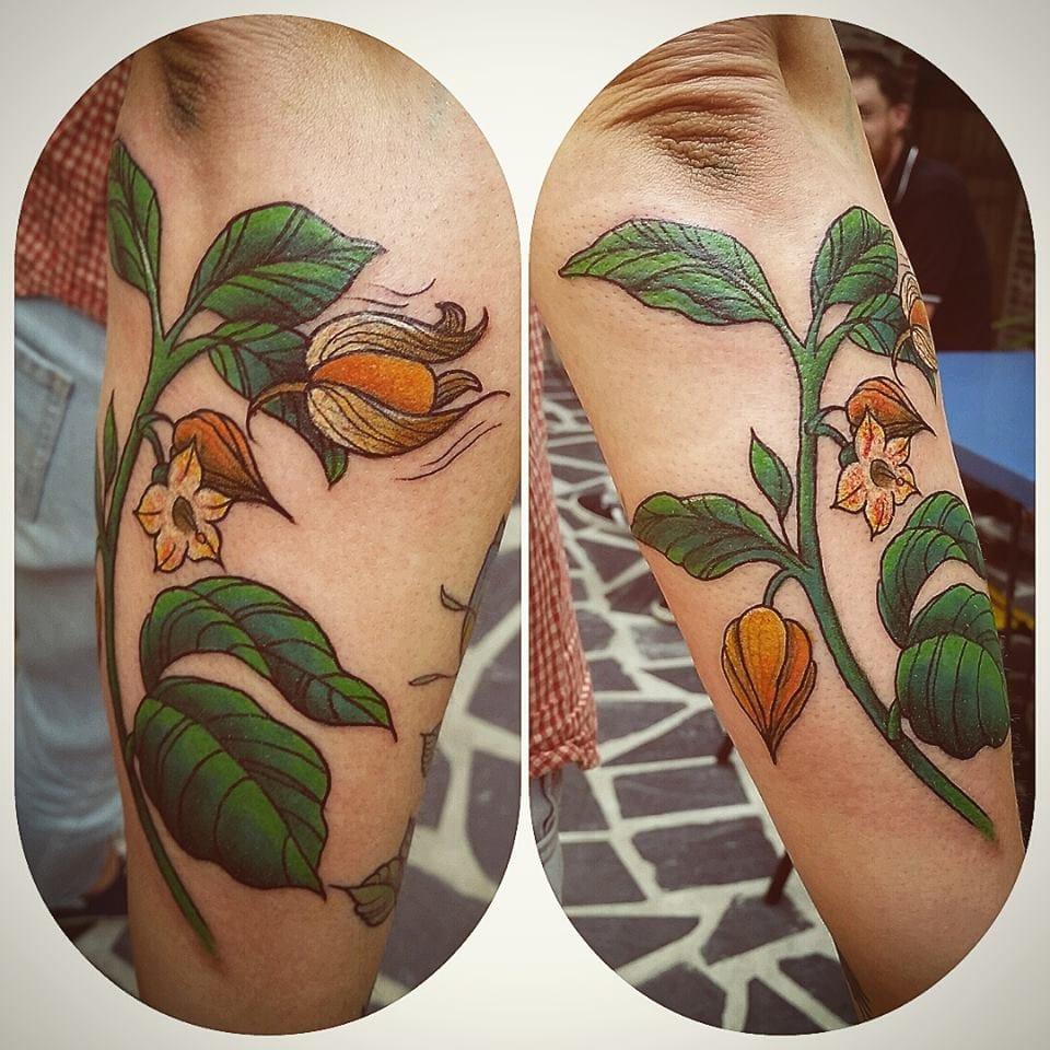 Charming piece made at Atomik Tattoo.