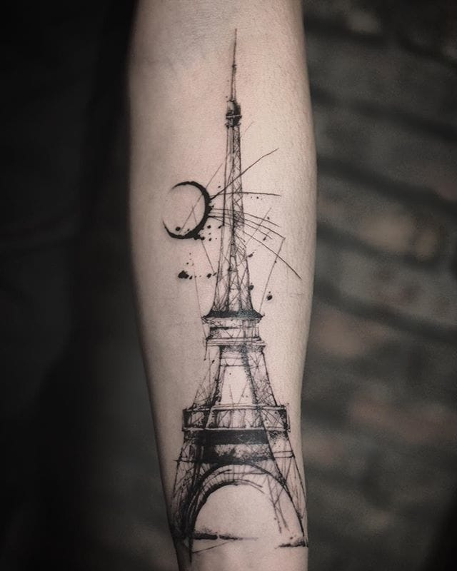 Creative Eiffel Tower.