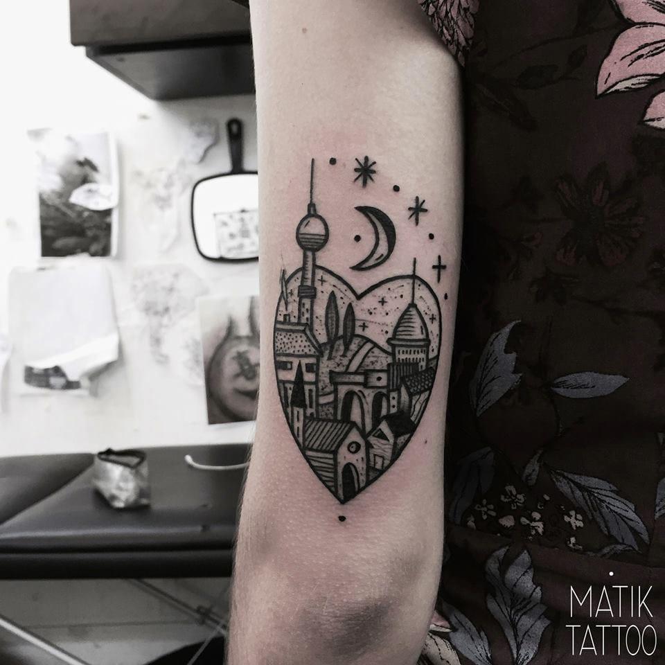 Sweet Berlin tattoo.