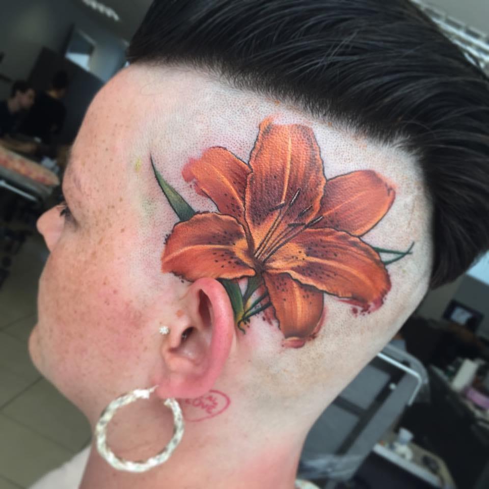 Bold flower.