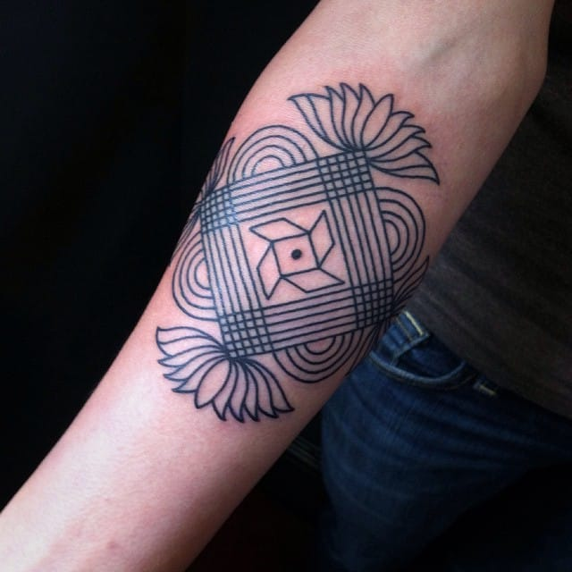 Geometric one by Corey Crowley.