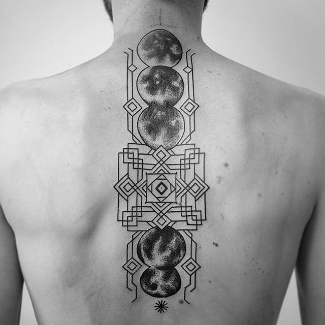 Lunar spine.