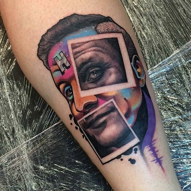 Arnold Rimmer Tattoo by Nick Imms