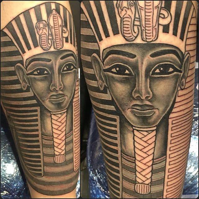 Tutankhamun Tattoo by Ritual Art Tattoo