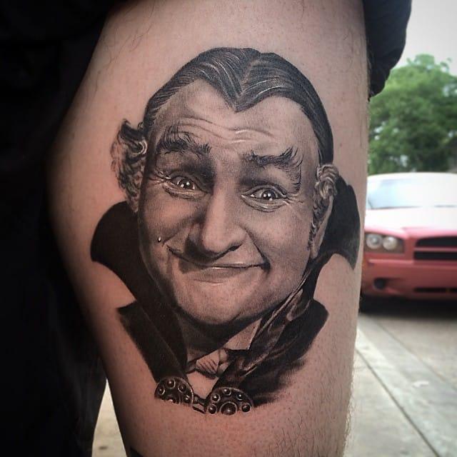 Grandpa Munster made by @jamiemahood