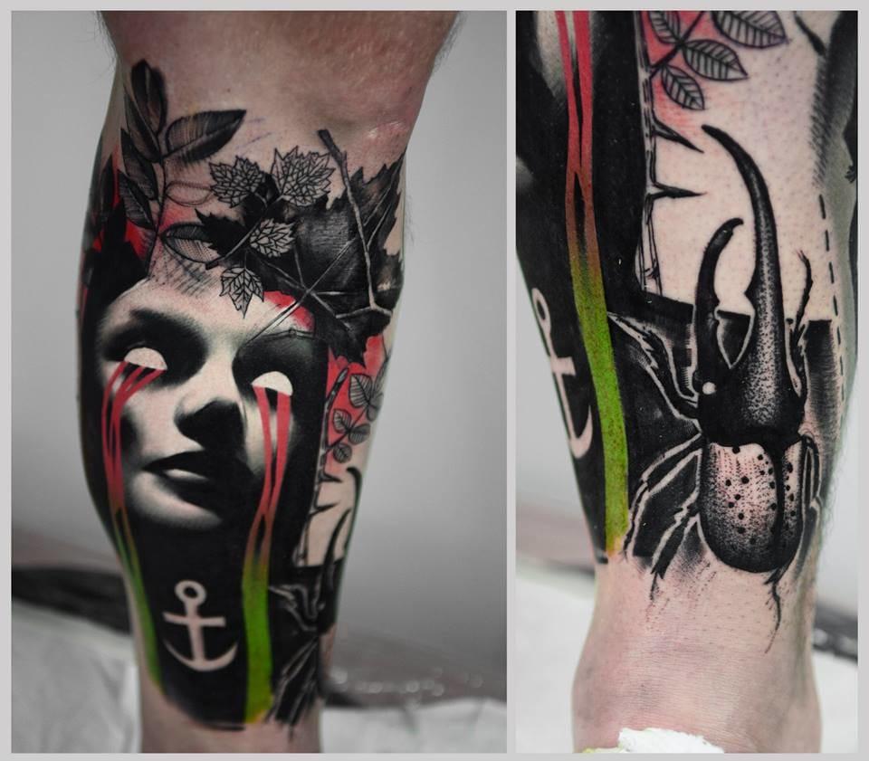 A Series of Beautiful Chaos: Timur Lysenko's Trash Tattoos