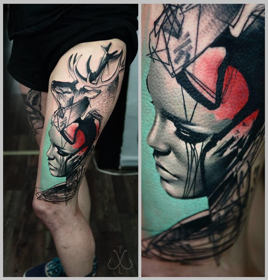 A Series of Beautiful Chaos: Timur Lysenko Trash Tattoos
