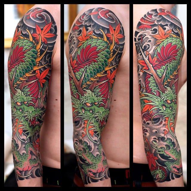 Powerful Japanese Tattoos by Johan Svahn