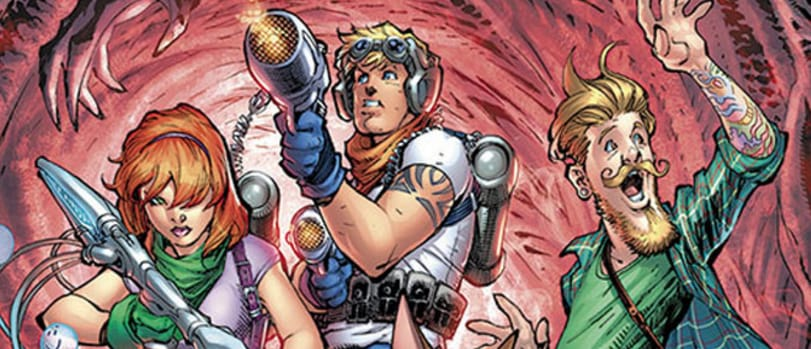 """DC Comics Unveils Tattooed Characters In """"Scooby Apocalypse"""""""