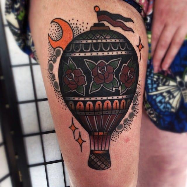 Tattoo by Matt Cooley