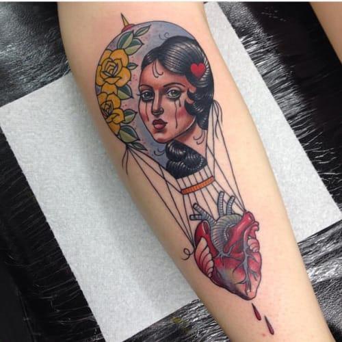 Tattoo by Sadee Glover