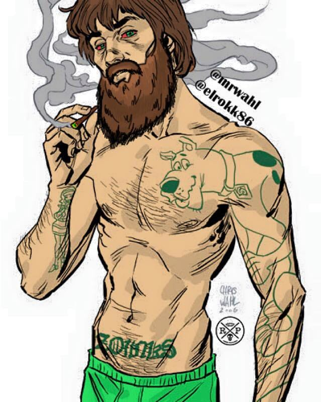 Tatted up Shaggy, A Rokk Productions