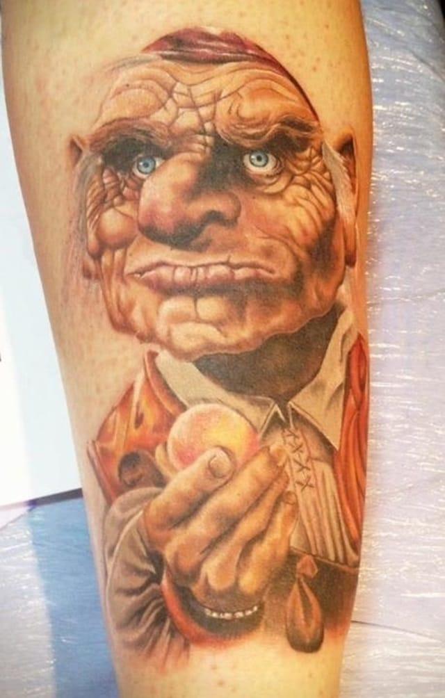 20 Tattoos Celebrating The Cult Classic Labyrinth   Tattoodo Labyrinth Movie Tattoo