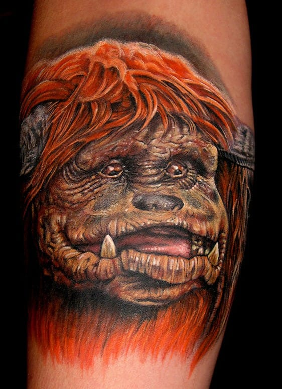 Ludo/Labyrinth tattoo by Stefano Alcantara