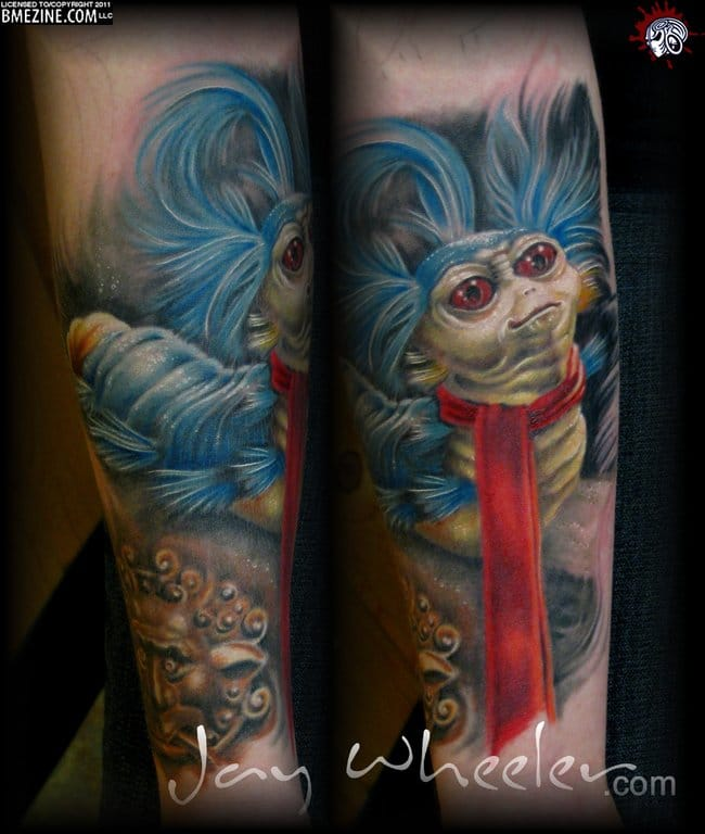 20 Tattoos Celebrating The Cult Classic Labyrinth | Tattoodo Labyrinth Owl Tattoo