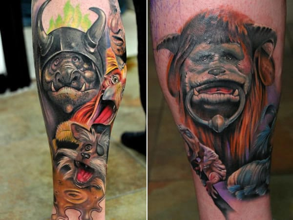 Goblin/Labyrinth sleeve by Richard Bez Beston