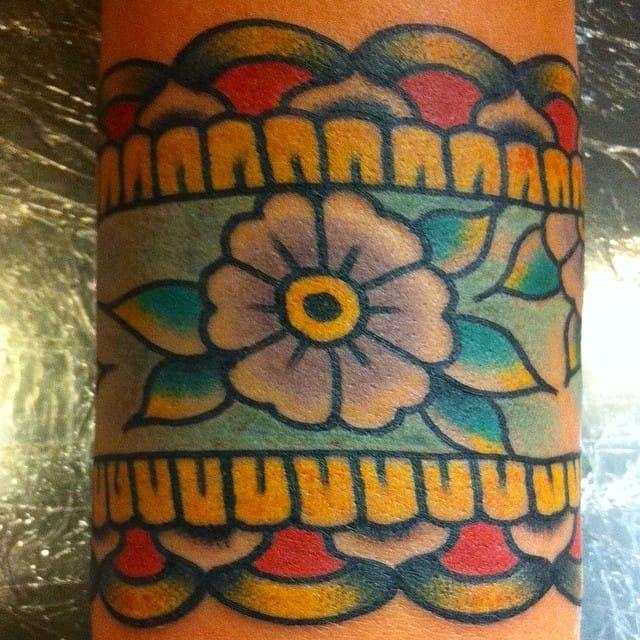 Cuff Tattoo by Miles Foxworthy
