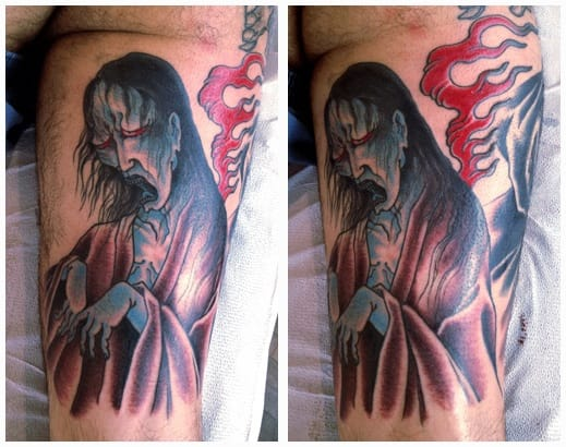 Yurei Tattoo by Chris O'Donnell