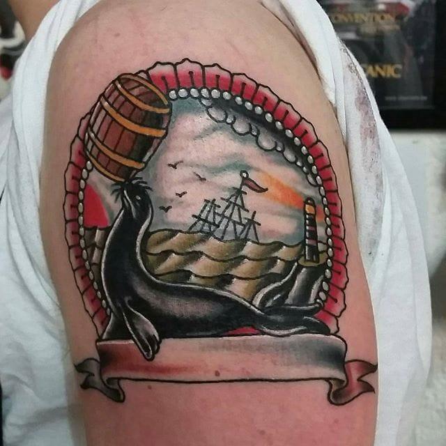 Tattoo by Jaysin Burgess