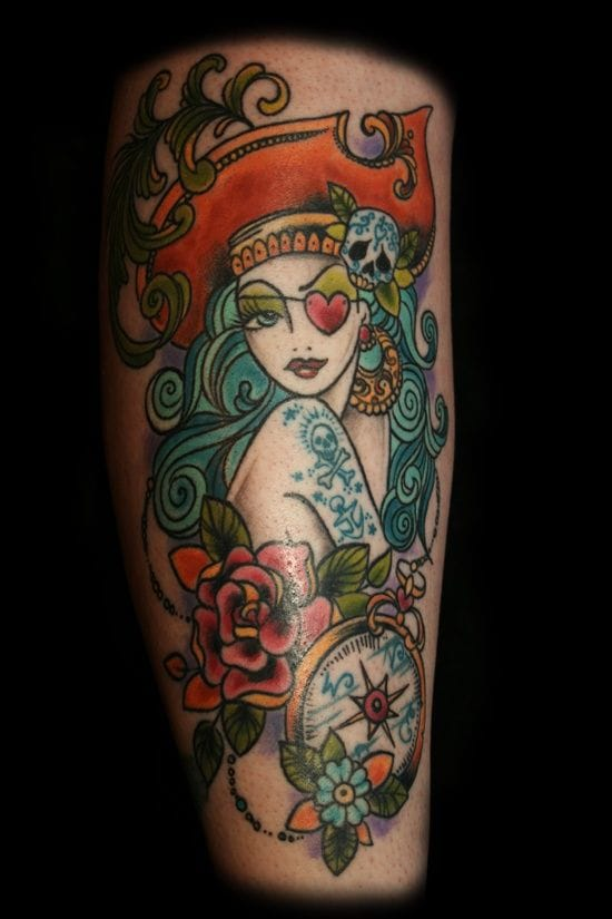 Pirate lady by Dawnii Fantana.