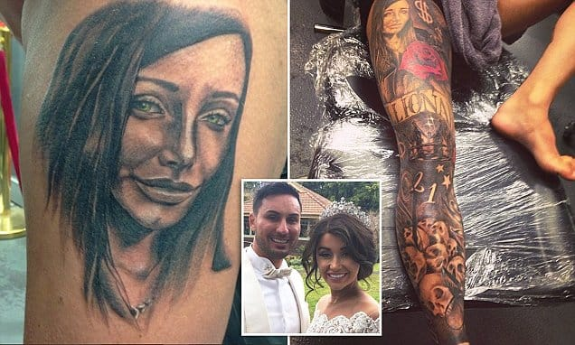 The Tattoo Mystery of Salim Mehajer...Whose Tattoo Is It?!?
