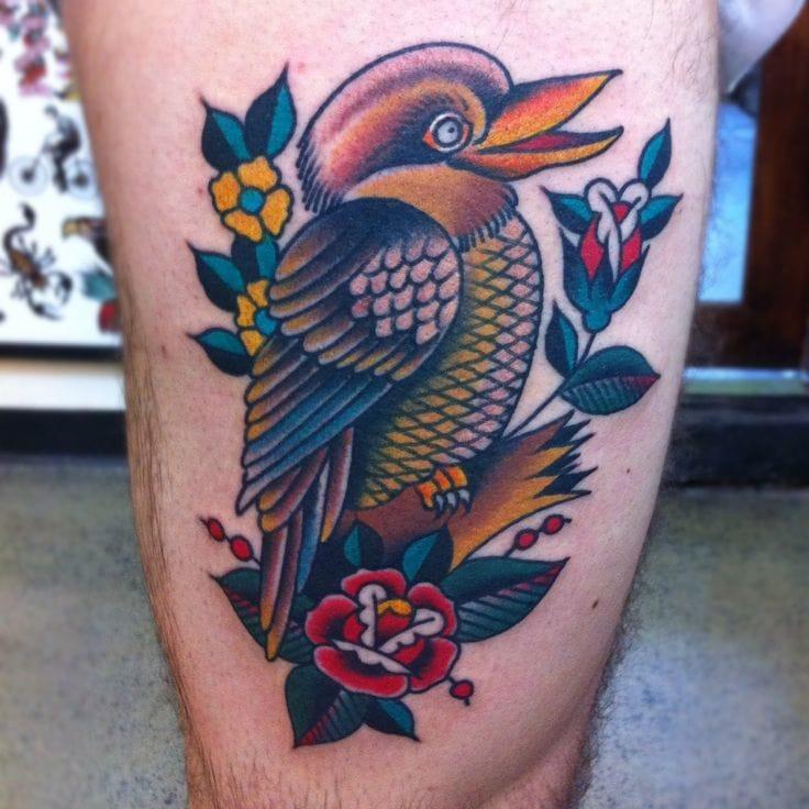 Kookaburra by Chapel Tattoo