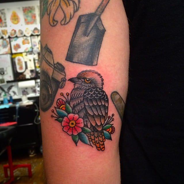 Kookaburra by JK Tattoo NY