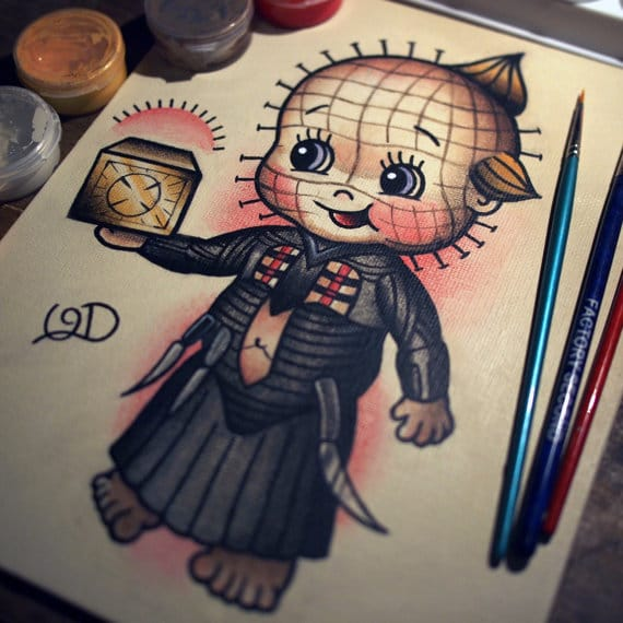 20 Tattoos Of Kewpies With Alter Egos
