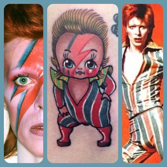 Bowie Kewpie by Stacey Martin Smith