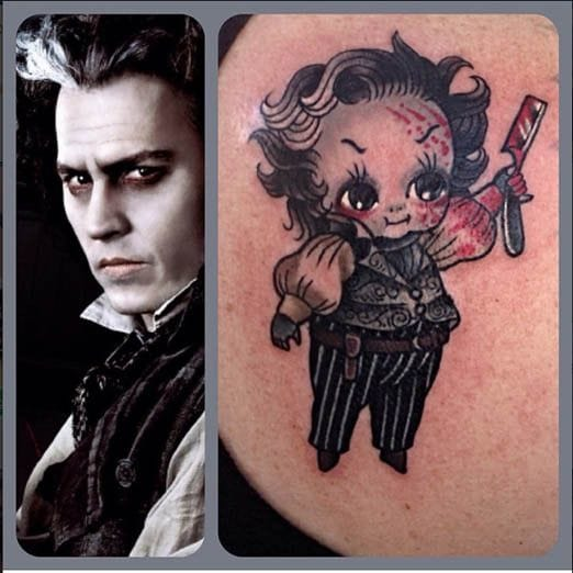 Sweeney Todd Kewpie by Stacey Martin Smith