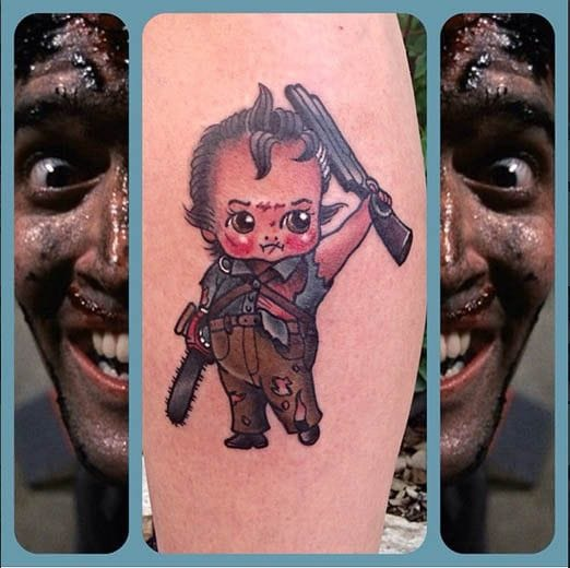 Army of Darkness 'This is my boomstick!' Kewpie by Stacey Martin Smith