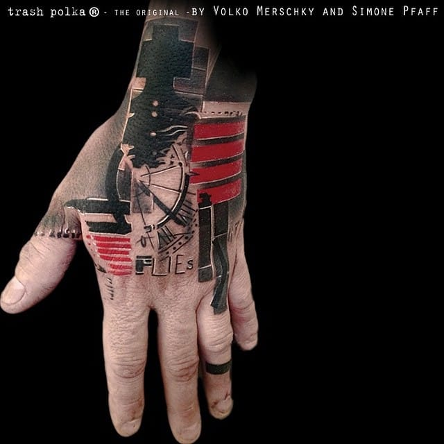 Timur lists the artists of Buena Vista Tattoo Club as one of his earliest influences. Courtesy of Buena Vista Tattoo Club