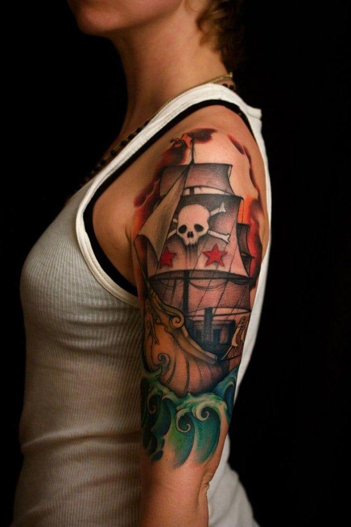 Fun pirate ship.