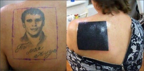 If your tattoo artist suggests that you lighten your tattoo with laser, just do it. You don't want to regret your cover up tattoo.